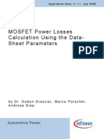 MOSFET Power Losses Calculation Using the Data-Sheet Parameters