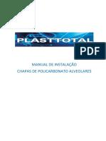 Manual Instalacao Policarbonato Alveolar