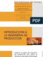 Tema 1, 1.1 - Introduccion a La Ingenieria de Produccion