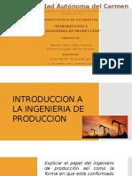 Tema 1, 1.1 - Introduccion a La Ingenieria de Produccion