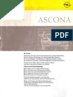 Ascona C Manualuloperatorului 1985 1988