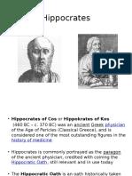 1. Hippocrates