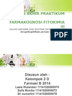 Praktikum FARFIT III