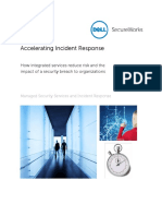 Dell Secureworks - Accelerating Incident Response Mssirti