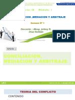 Conciliacion y arbitraje Sesion_1