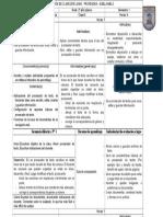 Planificación de Clase 2015 Junio Profesora