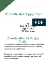 8. Uncoordinated Supply Chain