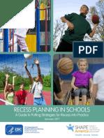 School Recess Planning