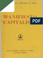 Manifiesto-capitalista_ de Luis o. Keilso y Mortimer f. Adler