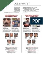 2017 Times All-City, All-Area Boys Basketball Teams