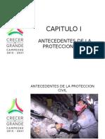 Capitulo I Antecedentes de La Proteccion Civil