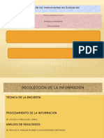 Diseño de Los Instrumentos de Evaluación