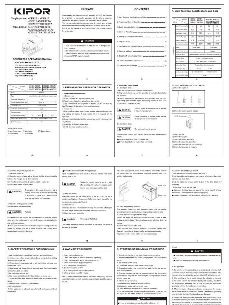 Kipor             KI-MB-ATS-C2  KDE12STA KDE16STA