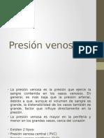 Presion Venosa y Pulso Venoso