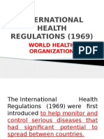 International Health Regulations (1969)
