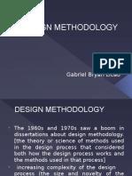 Design Methodology (PROFESSIONAL PRACTICE- ARCHITECTURE)
