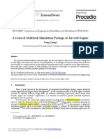 2011 a General Multitask Simulation Package of Aircraft Engine