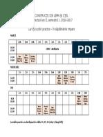 CLO Program Si Indrumatori 2016-2017