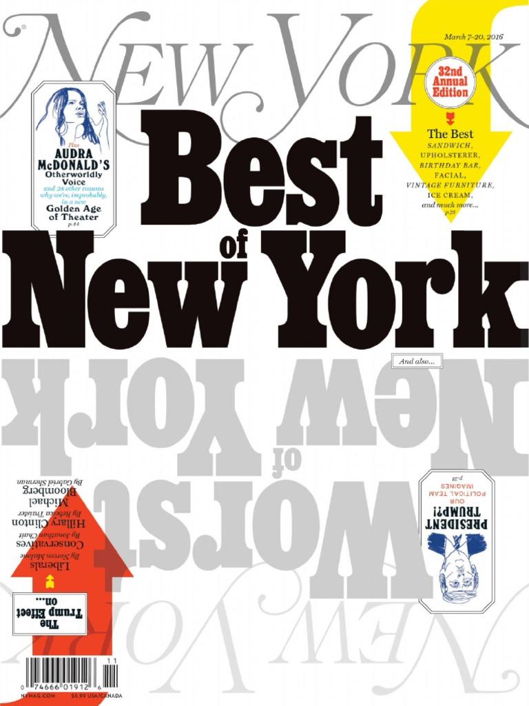 63baa5ef80db New York Magazine - 7 March 2016