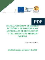 Gestion Economica Residuos Solidos