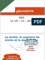 la geometrie eb4