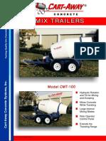 Mixer 1 m3 Caracteristicas