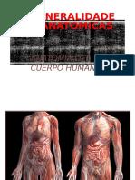 Generalidades De La Anatomia.