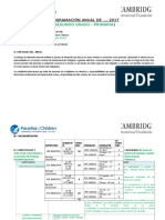 Formato Programa Anual de Matematica