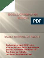Boala Cronica de Rinichi
