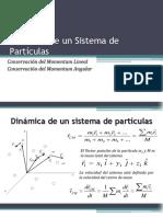1.- Dinámica de Un Sistema de Partículas