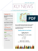 weekly newsletter- mar 27- mar  31-2