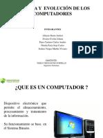 Historia de Los Computadores y Evolucion