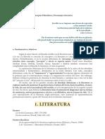Programa Deleuze y la literatura