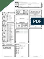 DnD 5E CharacterSheet - Gretel