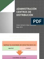 Administración Centros de distribución