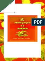 A Abnegação Do Amor - Livro