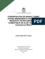 Conservacion Mago Tommy 2015