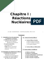 Chapitre 3 Reaction Nucleaire