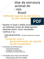 Análise Da Estrutura Organizacional Do Esporte Nos Brasil