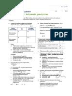 Docslide.pl Biotechnologia i Inzyniera Genetyczna Test Grupa A