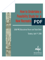 How to Undertake a Feasibility Study for a New Recreation Facility