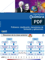 Polímeros Clasificación, Mecanismos de Formación y Aplicaciones