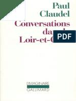 Conversations Dans Le Loir Et Cher
