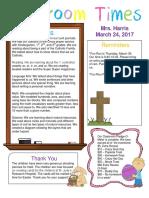 march 24 newsletter