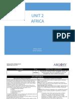 Unit 2 Africa