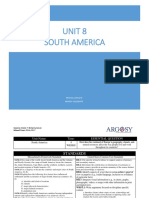 Unit 8 -South America
