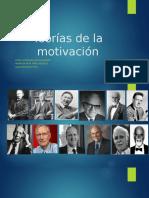 Teorias de La Motivacion (Completa)