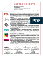 Lettre Syndicale