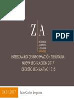 Intercambio de Informacion Financiera 24-01-2017