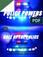police powers